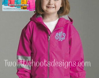 Toddler ~ Children ~ Youth Charles River Rain Jacket