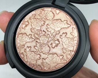 The Naked Rose Pressed Highlighter Bronzer Face & Eye Highlight Powder Medium Size