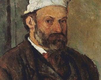 Self-Portrait With White Turban PDF Cross Stitch Pattern