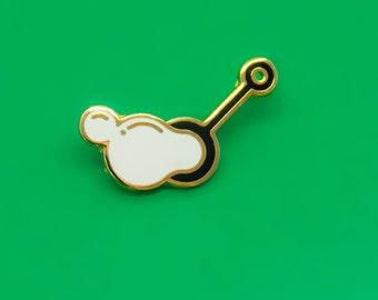 Bubble Blower Enamel Pin
