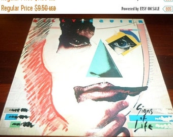 Save 30% Today Vintage 1984 LP Record Billy Squier Signs of Life Excellent Condition Capitol EMI Records
