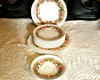 Vintage  Wedgewood Wild Briar Dishes 1950's