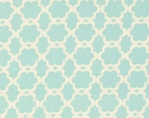 """ON SALE and FREE Shipping Fabric Remnant - Kumari Garden Tarika Blue Collection by Dena Designs,  - 15.5""""x62"""""""