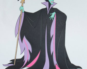 Maleficent Full Length Die Cut - Disney's Sleeping Beauty - Disney's Villains