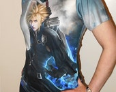 FF7, Cloud Strife Original Art Custom T-shirt (women) featured image
