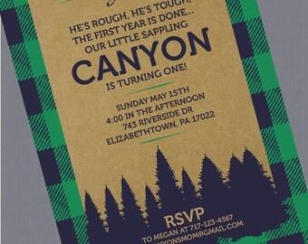 Little Lumberjack Invitations
