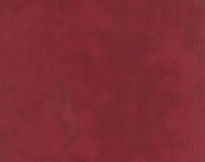 Primitive Muslin Flannel Barn Burgundy - 1/2yd