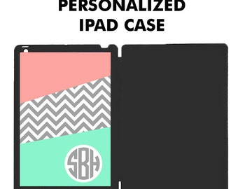 Personalized iPad Case, iPad Air Case, iPad Mini Case, Monogram iPad Case, iPad Mini Case, iPad Cover, Tablet Case