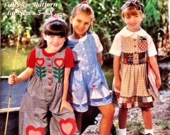 Simplicity Art-To-Wear Special Jumpers for Girls by Shirley Botsford