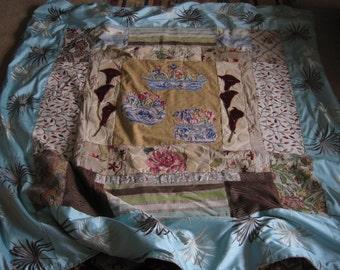A Beautiful Handmade Quilt /throw