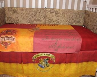 Harry Potter Crib Bedding Etsy