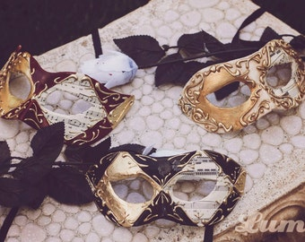 Custom Color Venetian Masquerade Mask