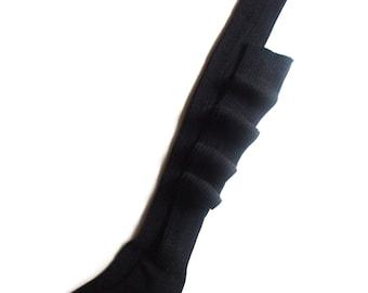 Women's over knee socks/tight socks/long socks/2x2 ribbed/boot socks