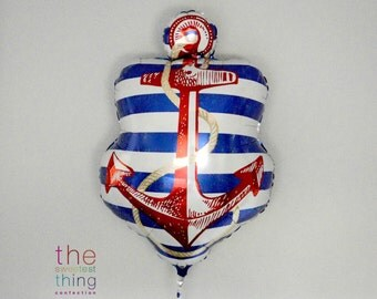"21"" nautical anchor balloon"