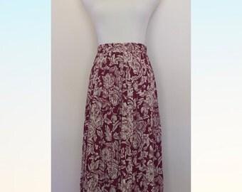 High Waist Vintage Skirt