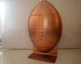 cake mold-football shaped-superbowl-birthday-Wilton-recipes included-