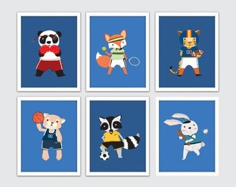 Sports Wall Art boys sports wall art | etsy