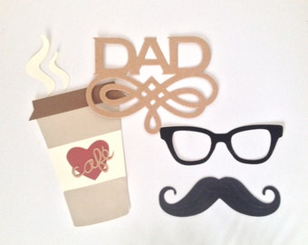Hipster Dad Die Cut Set
