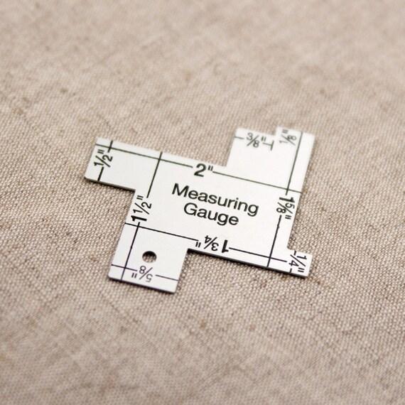 14-in-1 Measuring Gauge Seam Gauge Sewing Gauge Sewing