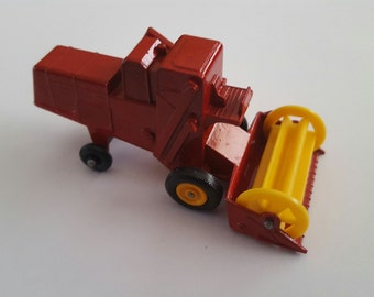 Vintage Matchbox Series No 65c1 Claas Combine Harvester, Made in England by Lesney Condition 9+
