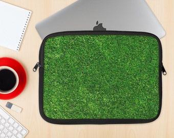 The GreenTurf Dye-Sublimated NeoPrene MacBook Laptop Sleeve Carrying Case