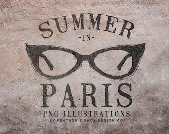 Summer In Paris V.1, INSTANT DOWNLOAD