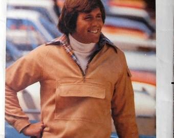 Mens Jacket, Butterick 5552, Size 40, Vintage Sewing Pattern, 80s pattern, Mens Pattern, Epsteam