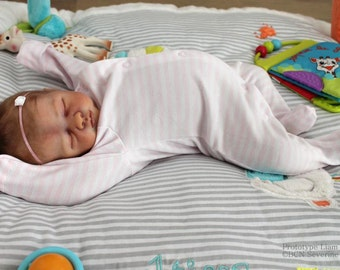 BABY LIAM! Precious newborn (19 inch)  Custom Made Reborn Baby From Liam Kit  **Painted or Rooted Hair**