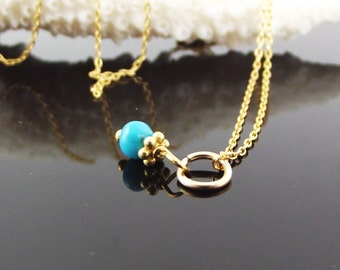 Tiny Turquoise Charm-Charming Accessory