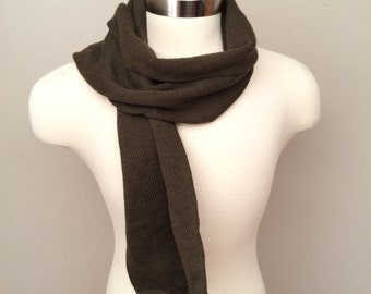 Vintage military issue knit scarf