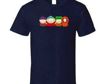 South Park - Kenny Cartman Kyle Stan T Shirt