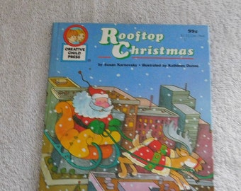 Rooftop Christmas by Susan Karnovsky