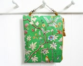Womens gift ideas, Large waterproof Chinoiserie Inspired hanging book/make-up/toiletries/cosmetics bag storage