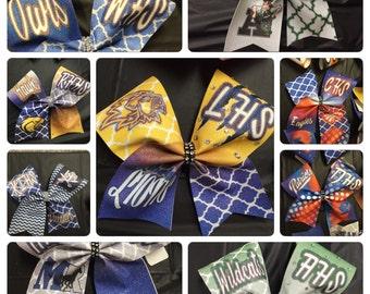 Custom dyed School Bow