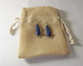 Handmade Earrings - Lapis Lazuli