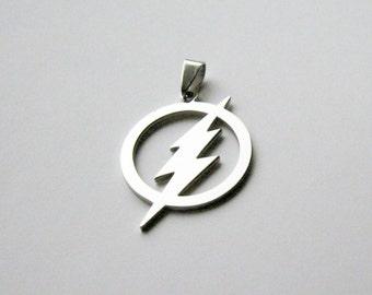 Stainless Steel Lightning Bolt Pendant CLJewelrySupply