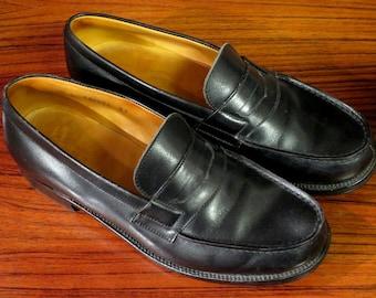Moccasins J.M. WESTON black sizes 2 1 / 2 D or a 35.5