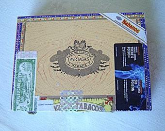 Partagas wooden cigar box (326C)