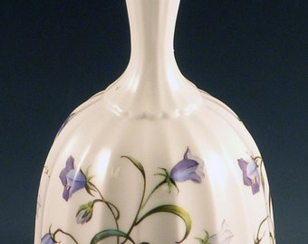 Spode Campanula Bell Fine English Bone China Blue Bells Flowers Decorative Accessory F1397-L
