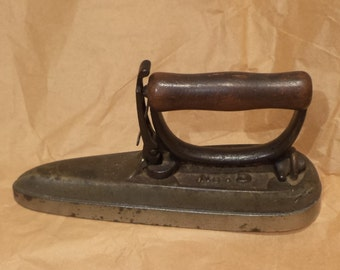 Sleeve Iron, Vintage Large Clothes Sleeve Pressing Iron, Repurpose as Doorstop