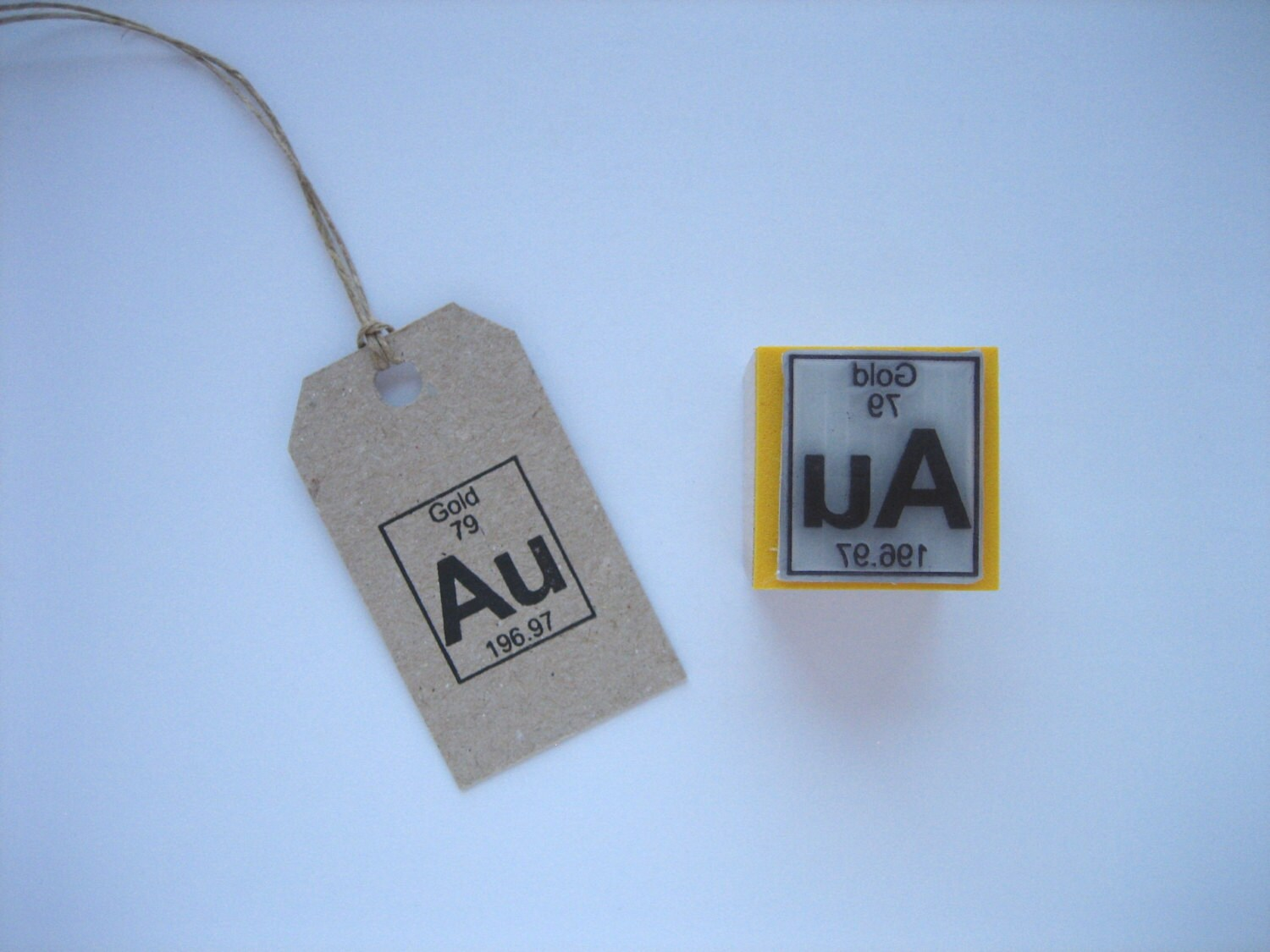 Gold rubber stamp gold stamp periodic table rubber stamp sold by samadhiartshop gamestrikefo Image collections