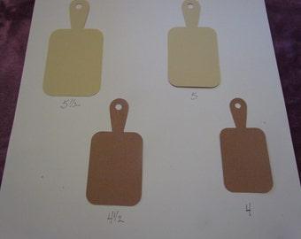 large cutting board die cuts