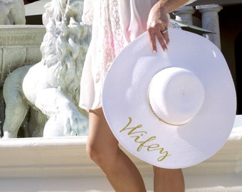 Bachelorette Shop: Custom Bridal Sun Hat