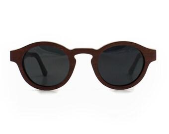 Wooden sunglasses - La Concha, Hoentjen Creatie