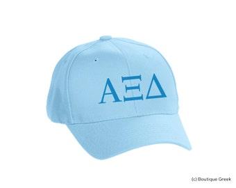 AXiD Alpha Xi Delta Classic Letters Hat