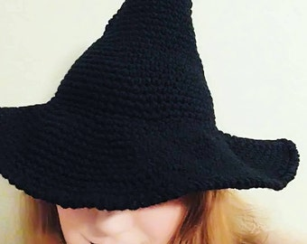 Custom Witch Hat - Black Witch Hat