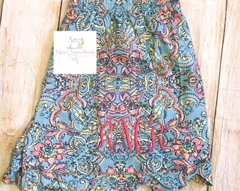 Lilly inspired pj shorts