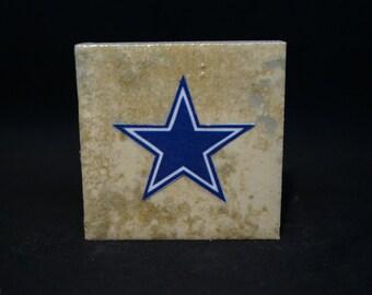 Dallas Cowboys (4-Pack) - Tile Magnets 1-3/4 x 1-3/4