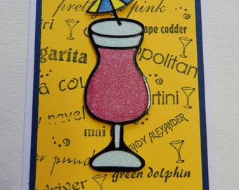Umbrella Drink All Occasion Card