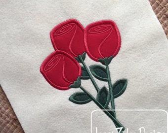 Roses 92 Appliqué Design
